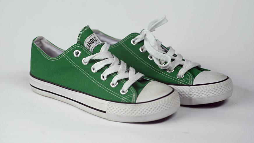 converse verdes para niños