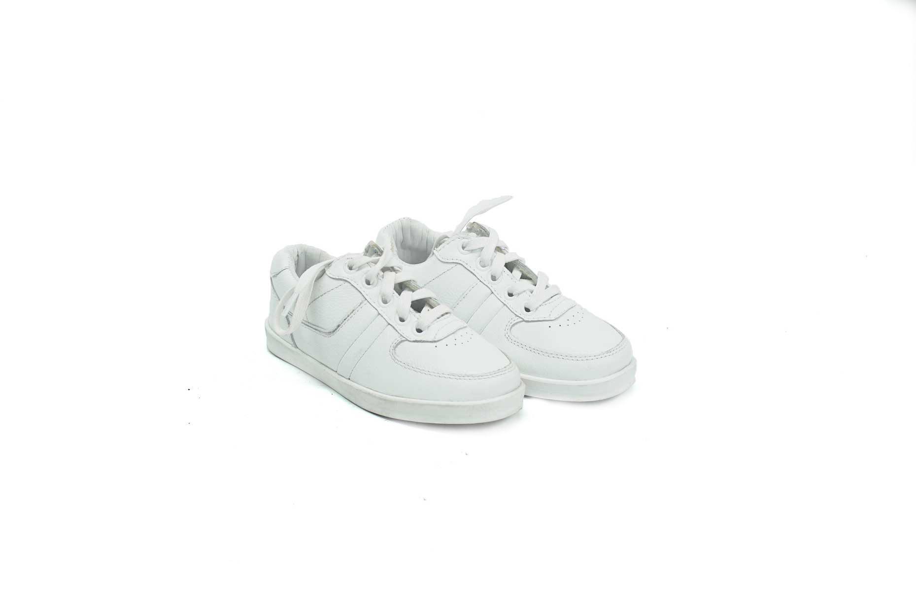 fotos oficiales comprar baratas completamente elegante Zapatos Blancos Gruesos